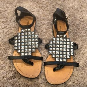Montego Bay Club spiked sandals